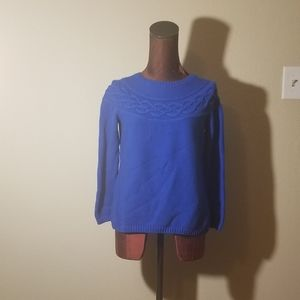 3for$20 - Talbots blue sweater